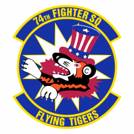 Logo of 74th Fighter Squadron