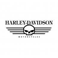 Logo of Harley Davidson Skull