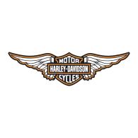 Logo of Harley Davidson wings