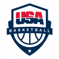 Logo of USA Basketball