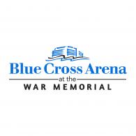 Logo of Blue Cross Arena at the War Memorial