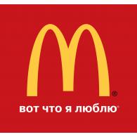 Logo of McDonald's Russia