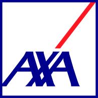 Logo of AXA open blue