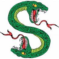 Logo of south side serpent snake