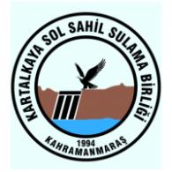 Logo of Kartalkaya sol sahil sulama birliği Kahramanmaraş Pazarcık