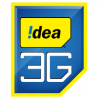 Logo of Idea Mobile of india 3G