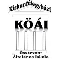 Logo of KÖÁI Összevont Általános Iskola