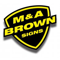 Logo of M & A Brown Signs