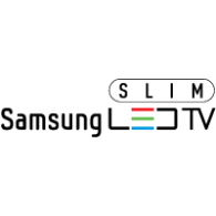 Logo of Samsung Slim LED TV