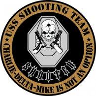 Logo of USS Shooting Team