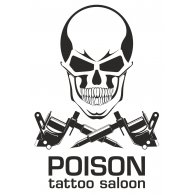 Logo of POISON tattoo saloon