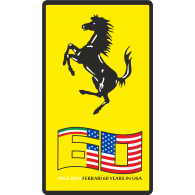 Logo of Ferrari 60 Years in America