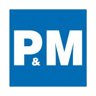 Logo of P&M