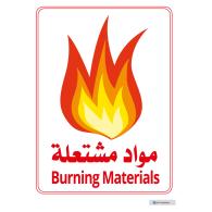 Logo of Burning Materials