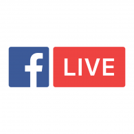 Logo of Facebook Live