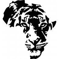 Logo of Africa Map Lion