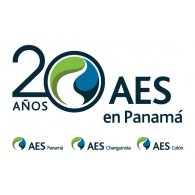 Logo of Aes Panamá 20 años