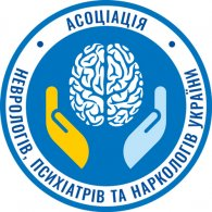 Logo of Асоціація неврологів, психіатрів та наркологів України