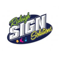 Logo of Raleigh Sign Solutions