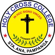 Logo of Holy Cross College Sta. Ana Pampanga