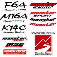 Logo of MONSTER SPORT KIT DECALS