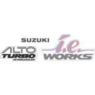 Logo of SUZUKI ALTO IE WORKS DECAL KIT