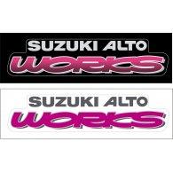 Logo of SUZUKI ALTO WORKS RS-Z LOGO