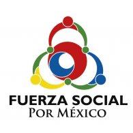 Logo of fuerza social por mexico