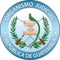Logo of Organismo Judicial Guatemala