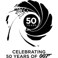 Logo of 007 50th Anniversary