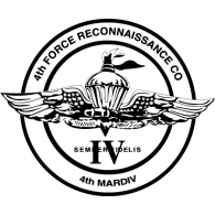 Logo of 4th Force Reconnaissance Co
