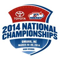 Logo of 2014 USA High School Hockey Championships