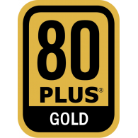 Logo of Power Supply 80 PLUS Gold Certification