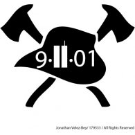 Logo of 9-11 Fire Decal
