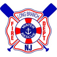 Logo of Long Branch Fire Department - Water Rescue