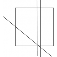 Logo of Square and lines