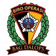 Logo of Bag Dalops Roops Biro Operasi