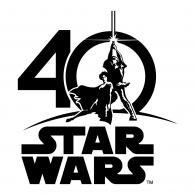 Logo of Star Wars 40th Anniversary