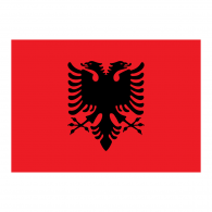 Logo of Official Albania flag