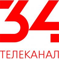 Logo of 34 telekanal