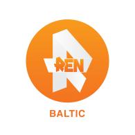 Logo of REN TV BALTIC