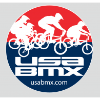 Logo of USA BMX circular logo