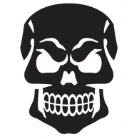 Logo of Skull face