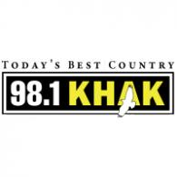 Logo of 98.1 KHAK
