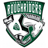Logo of Cedar Rapids Rough Riders