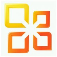 Logo of Microsoft Office 2010 Shading Logo