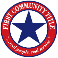 Logo of First Community Title Co.