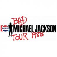Logo of Michael Jackson - Bad Tour 1988