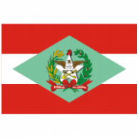 Logo of Bandeira do Estado de Santa Catarina - Brasil