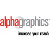 Logo of AlphaGraphics